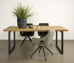 lucca dining table metal legs v.a € 955,-