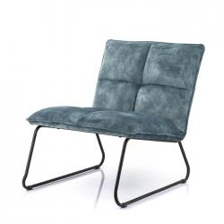 Fauteuil Ruby blauw adore € 299,-
