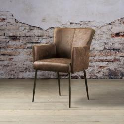 NC 0016 - Ibiza armchair - dark brown