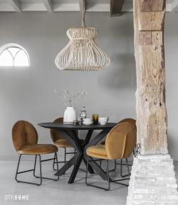 DTP Home Timeless Black - Shape dining table round