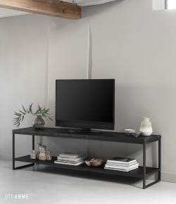 DTP Home Timeless Black - Beam TV stand