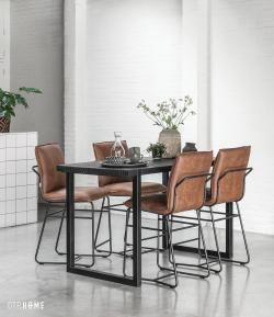 DTP Home Timeless Black - Beam counter table