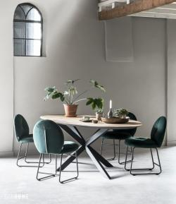 Timesless Collection - Shape dining table oval