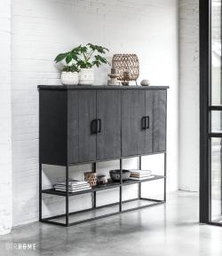 DTP Home Timeless Black - Beam cabinet large