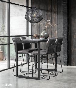 DTP Home Timeless Black - Beam bar table