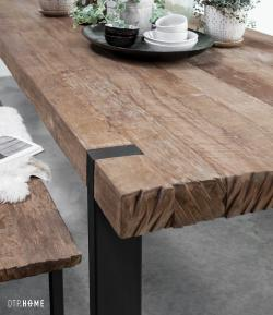 DTP Home Timeless - Beam dining table & bench