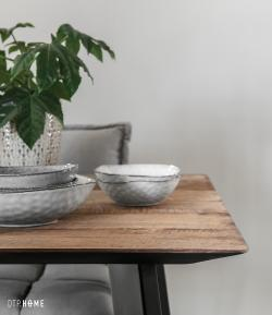 Timeless Collection - Shape dining table rectangula
