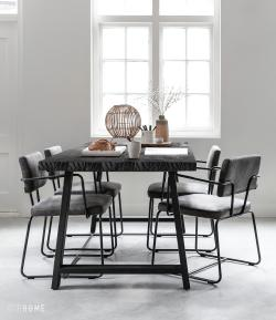 DTP Home Timeless Black - A-team dining table