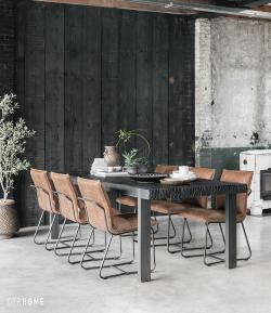 DTP Home Timeless Black - Beam dining table