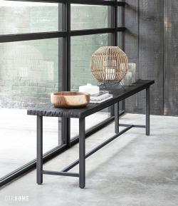 DTP Home Timeless Black - Beam bench